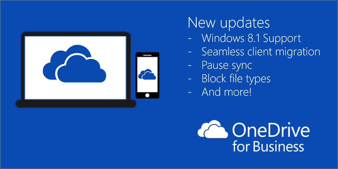 BIG updates for #OneDrive for Business are here! https://t.co/14RckNoIW3 https://t.co/ZYw99rxgdY