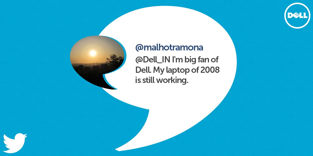 Dell India on Twitter: