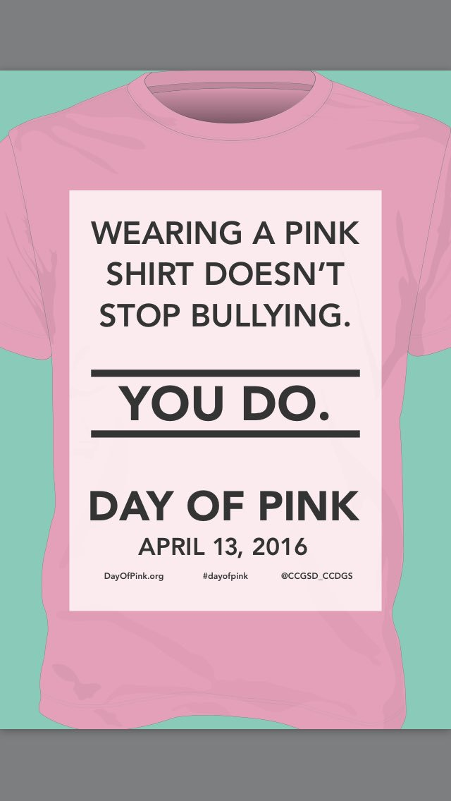 Hey @JosephHoweSr - don't forget to wear pink tomorrow! #TDSBpink #dayofpink #ETTdayofpink https://t.co/hhDL08ViRB