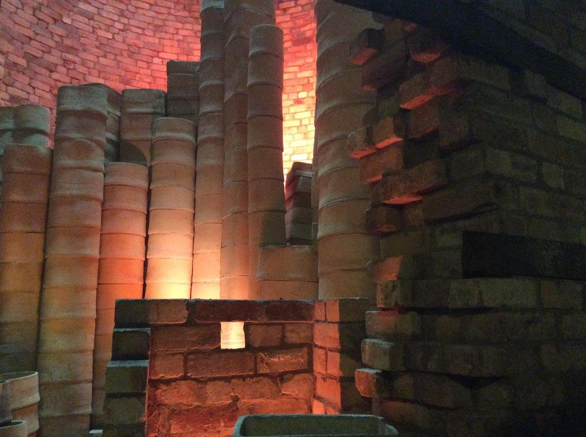 Inside a bottle kiln. Coalport Museum, Shropshire. https://t.co/3Q22b2eUMR