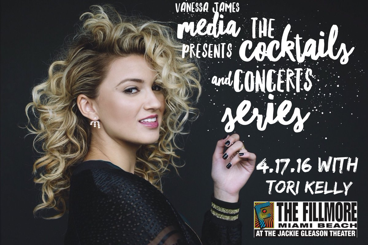 Tori Kelly Fans, ur chance to win tickets to #CocktailsandConcerts this Sunday is here>https://t.co/sUuLlAVUK3 https://t.co/t6ZT2NiOfL