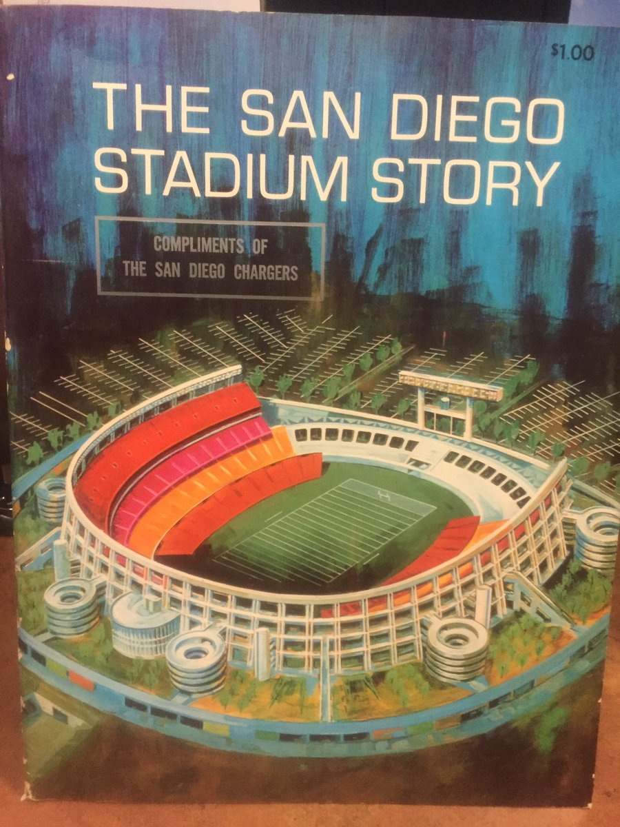 Someone sent @Billyraysmith this magazine handed out the day the stadium opened in 1967. https://t.co/pRMtZX5tjo