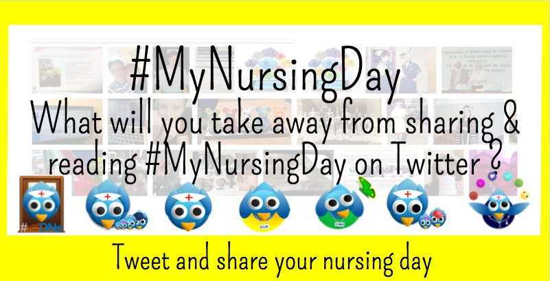 Here's our third and final #MyNursingDay question   What will you take away from the #MyNursingDay Tweets ? https://t.co/Rh5EpHFjZ2
