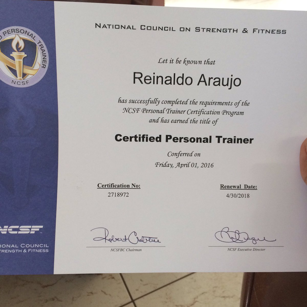 Reinaldo Araujo On Twitter Its So Official All I Need Is A