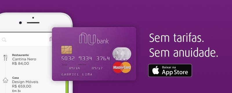 Resultado de imagem para nubank mastercard tarifas