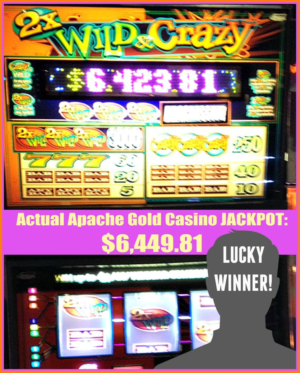 Apache Gold Casino على تويتر Our Lucky Apache Gold Casino Winner