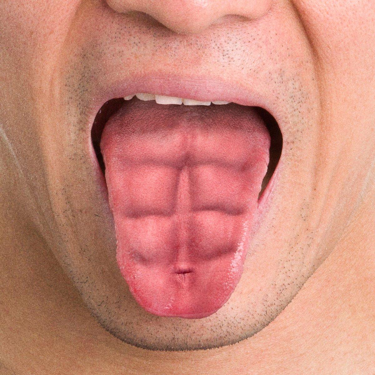 Never skip tongue day https://t.co/39s7o8ZQUV