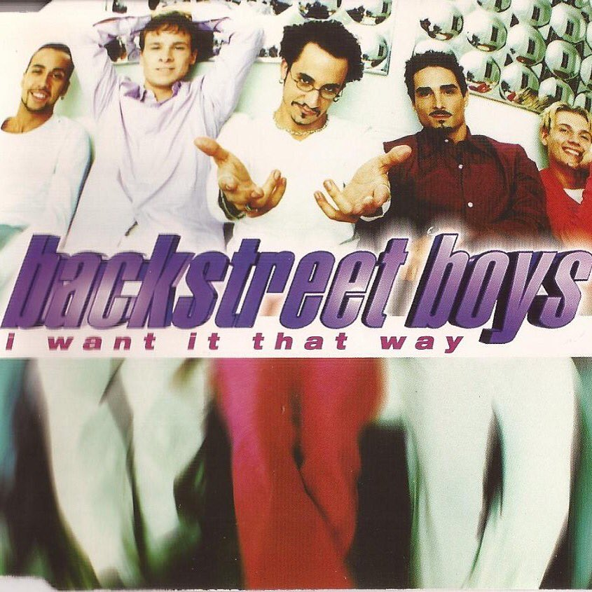 17 years ago today we released a song called 'I Want It That Way' & you've been our fire, the one desire ever since. https://t.co/ueNZFmzAqJ