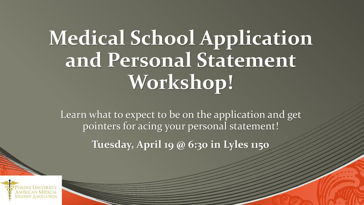 purdue application personal statement A personal statement is an essay, of a personal nature, often required at some point in the application process for scholarships graduate or professional schools.