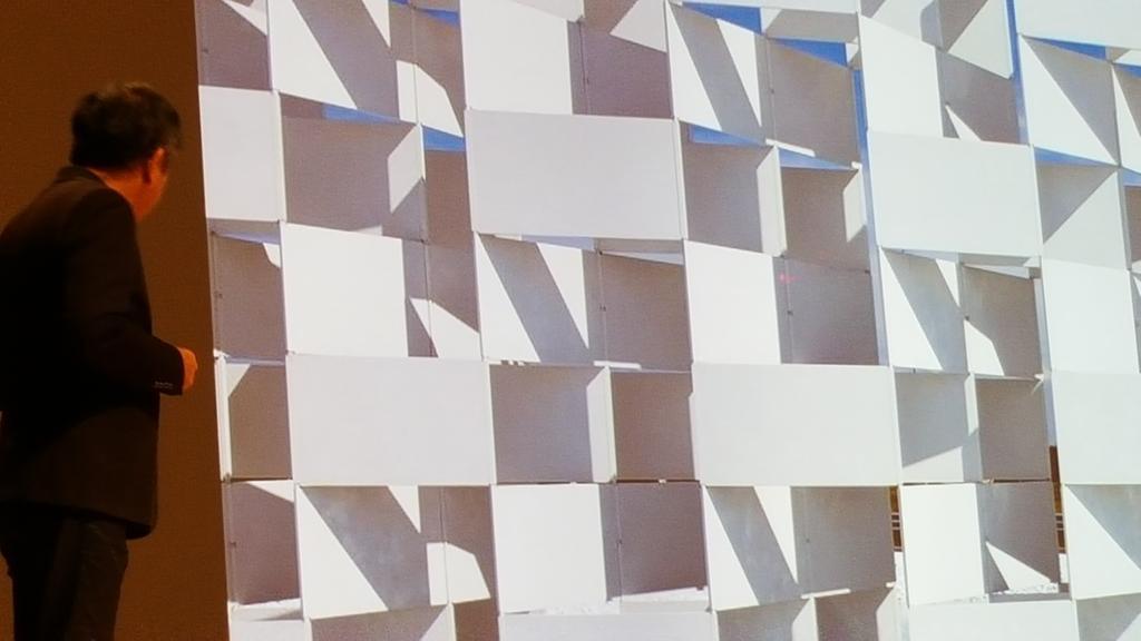Frances Bula On Twitter Showing A Pavilion Made Of Ceramic Tile In