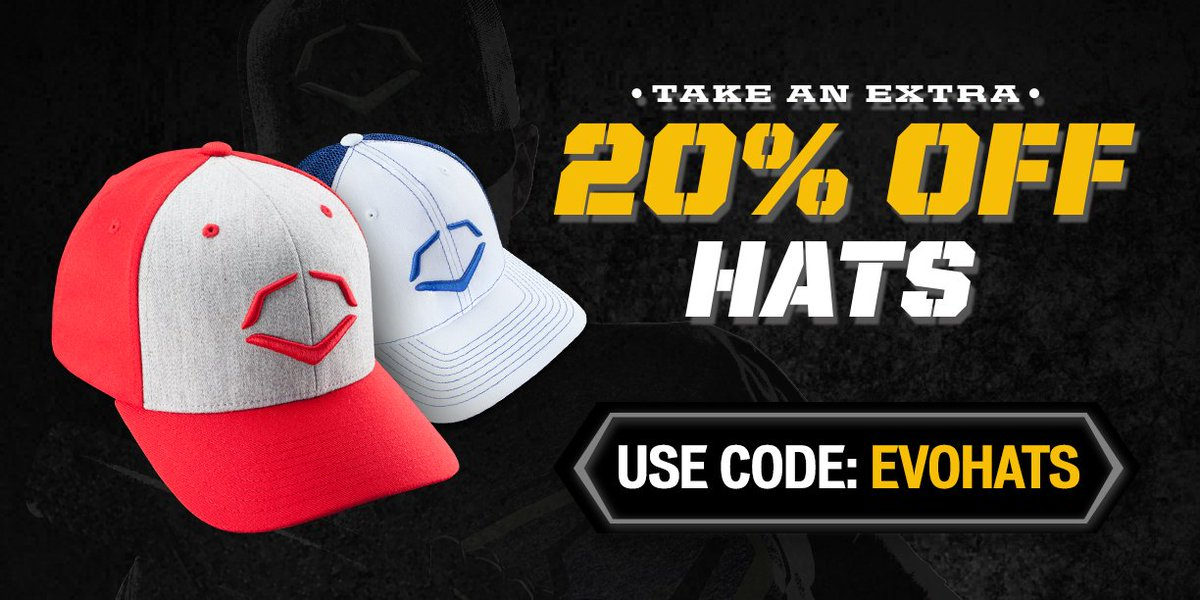400f24b56c1 ... promo code for evoshield on twitter sale 20 off evo lids excludes bucket  hats t.