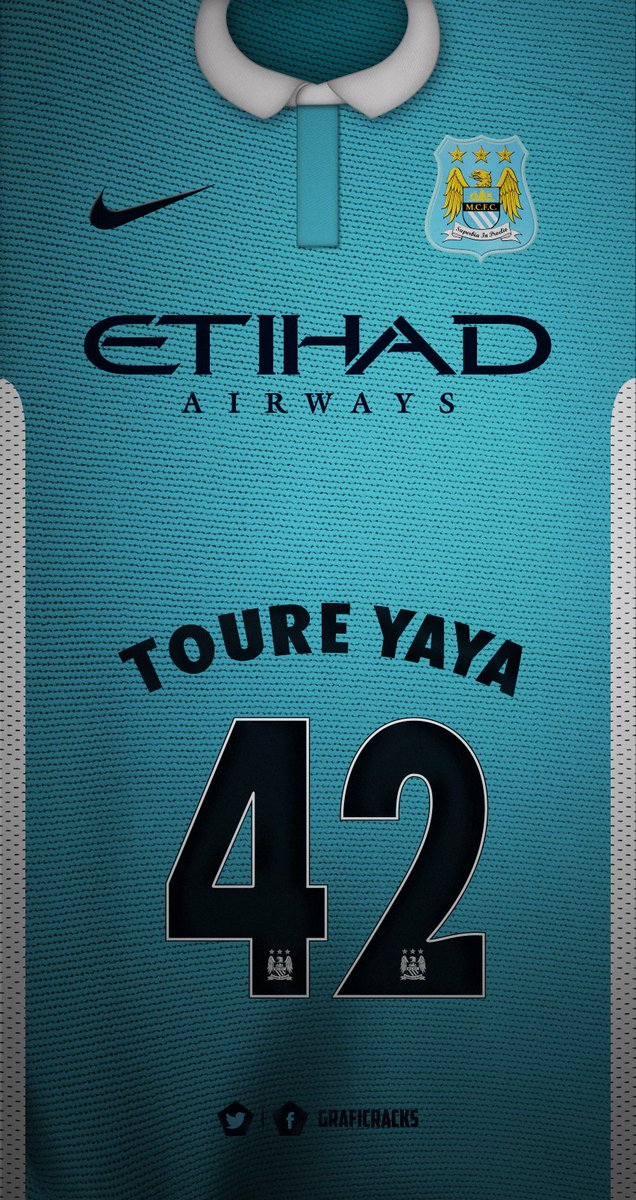 Graficrack On Twitter Manchester City Jersey Local Yaya