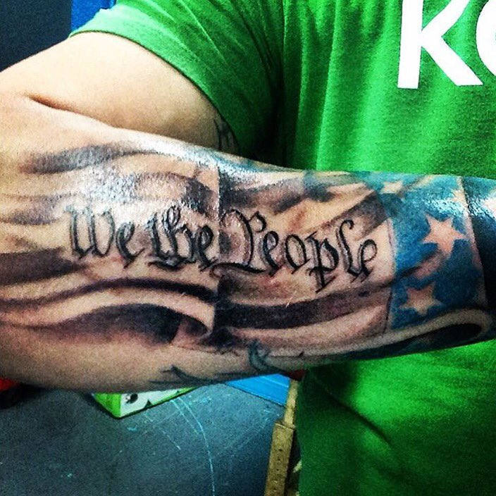Patriot ink on twitter awesome americanflag for People getting tattoos