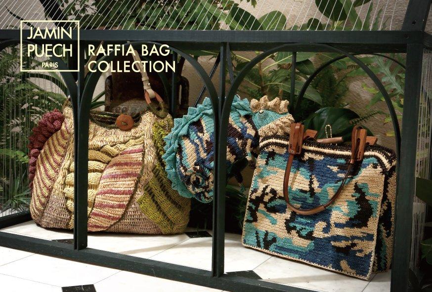 4/16(土)~ JAMIN PUECH表参道店 ではラフィアバッグコレクションがスタート☆期間中商品をお買い上げいただいたお客様にギフトをご用意。JAMIN PUECH: 03-5464-2780 #ラフィアバッグ #バッグpic.twitter.com/0O2Z0jEajU