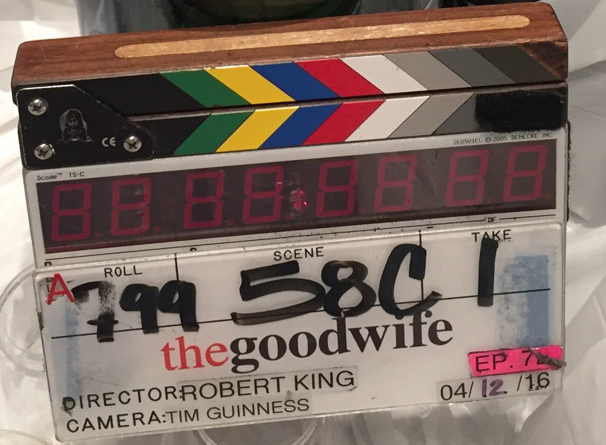 Walked off #TheGoodWife set for the last time. So many friends. So much love. I'll miss them most of all #Family https://t.co/44QHghBNIj