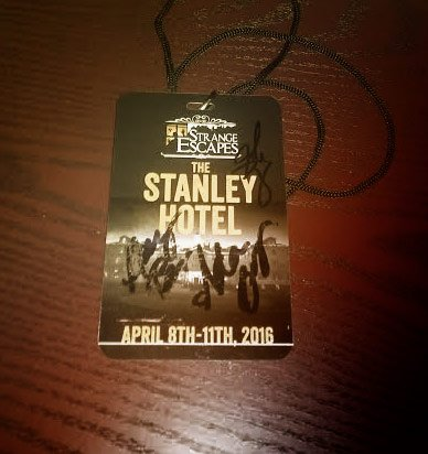 Retweet for a chance to win a Stanley Hotel lanyard signed by me, @amybruni @grantswilson & @AdamJBerry #WeirdosRule https://t.co/3jFFX0XfnC