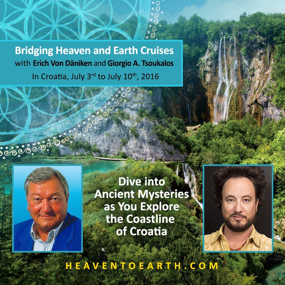 #Cruise in #Croatia with Erich @vonDaeniken & Giorgio @Tsoukalos >>>   https://t.co/wEriHqF4fY https://t.co/8I38jWbeqG