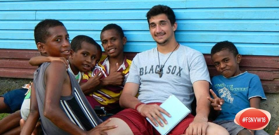 Will Nelson, Senior, served Naboutini village in Fiji #FSNVW16 #FresnoStateServes https://t.co/ggdckk4oFb
