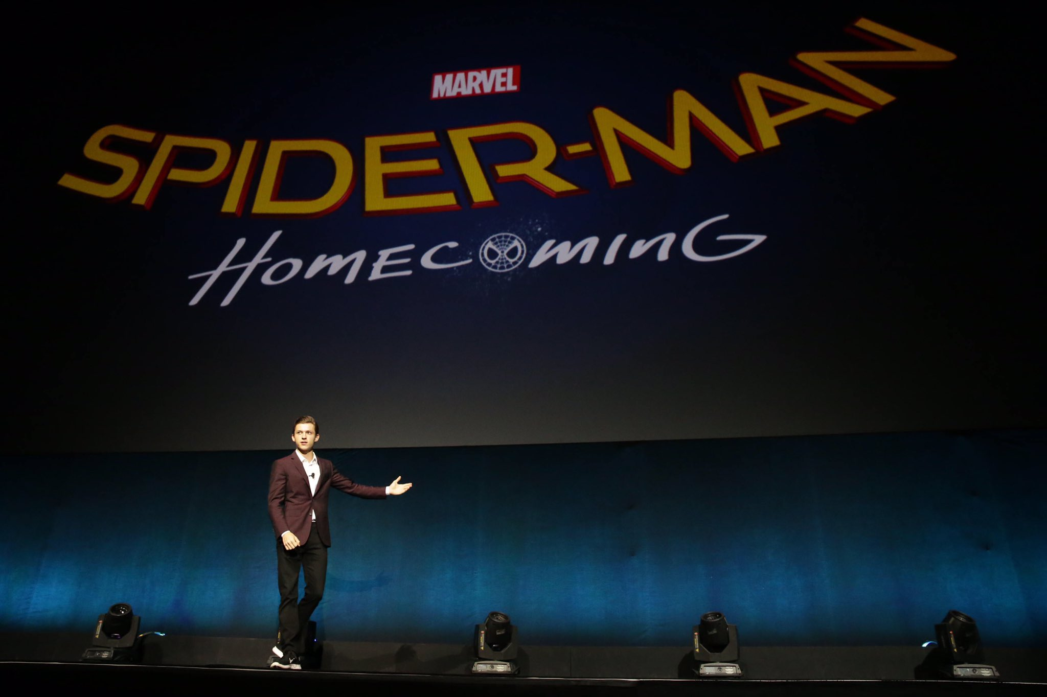 Marvel & Sony's Spider-Man Reboot Titled Spider-Man: Homecoming 1