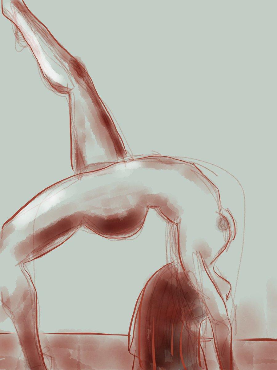 No. 1467 yogi figure study #draw365 #sketch #art #bigartboost https://t.co/0uaqRFAGDf