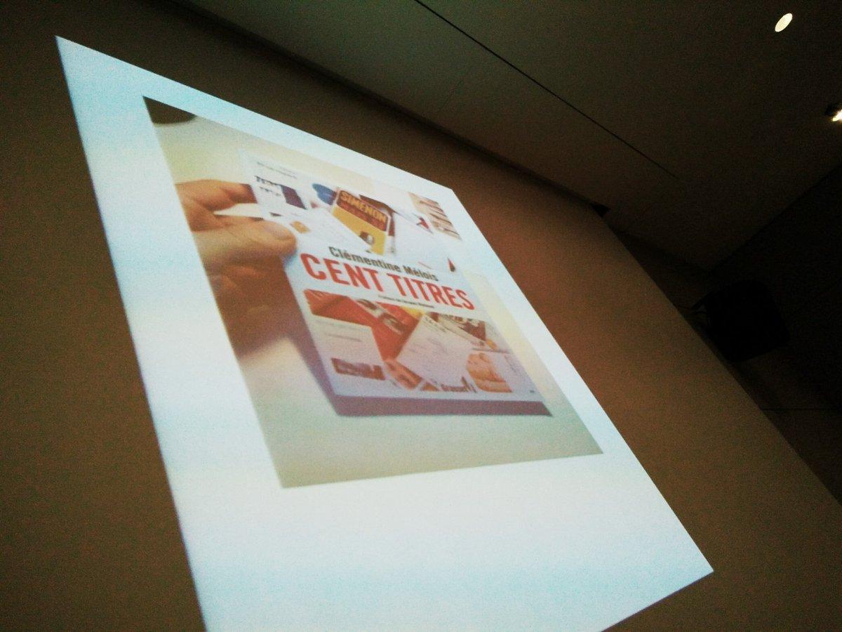 Cent titres: triple initiative de publication de détournement de couvertures de livres par @Clemelois #ECRiDiL https://t.co/iZTTP8SJ30