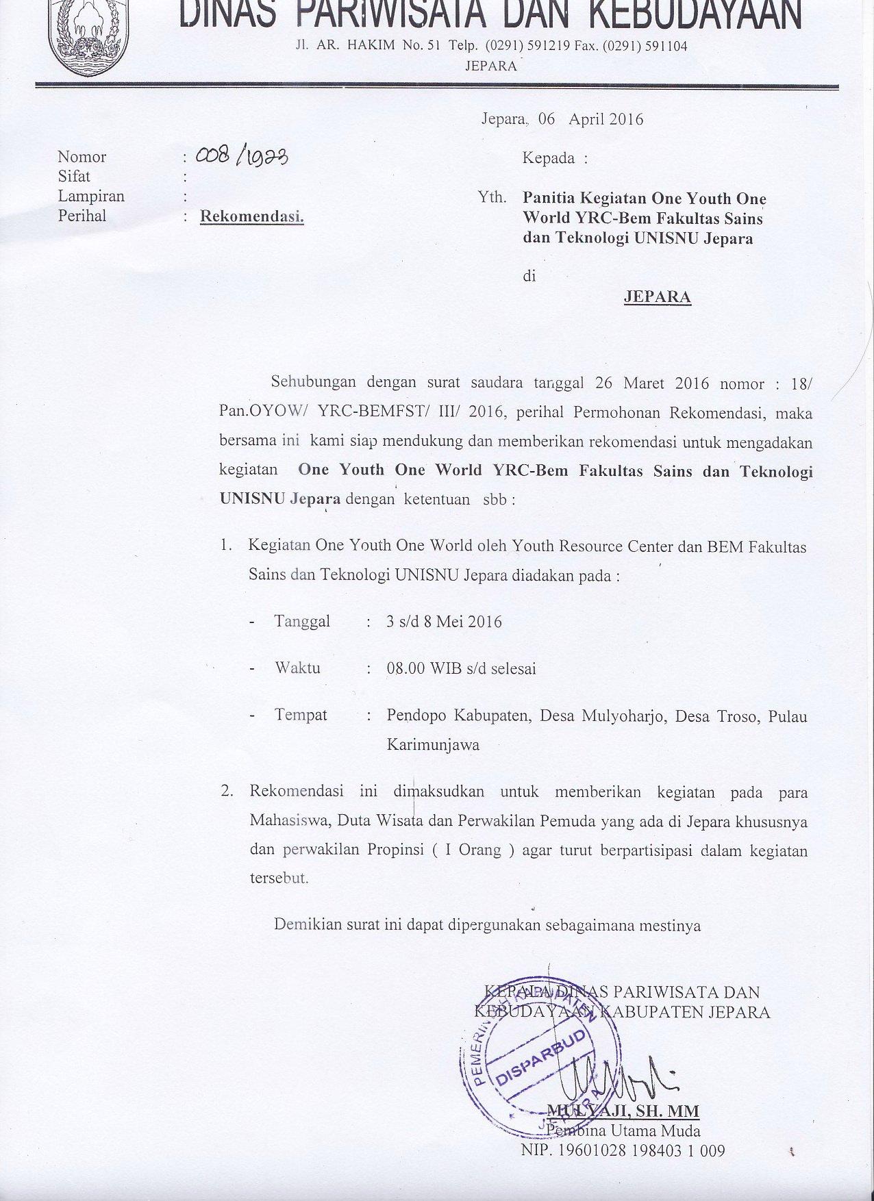 Yrc Indonesia A Twitteren At Ganjarpranowo Bapak Gubernur