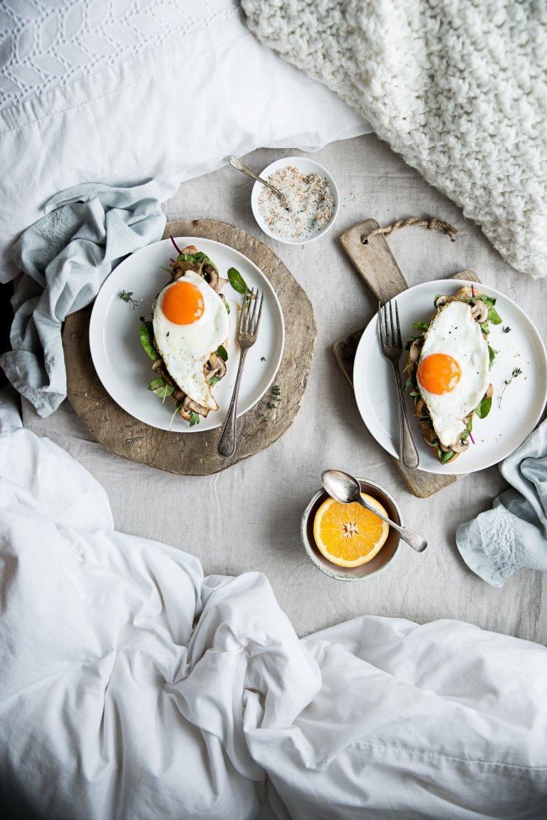 Uova per la pancia più piatta