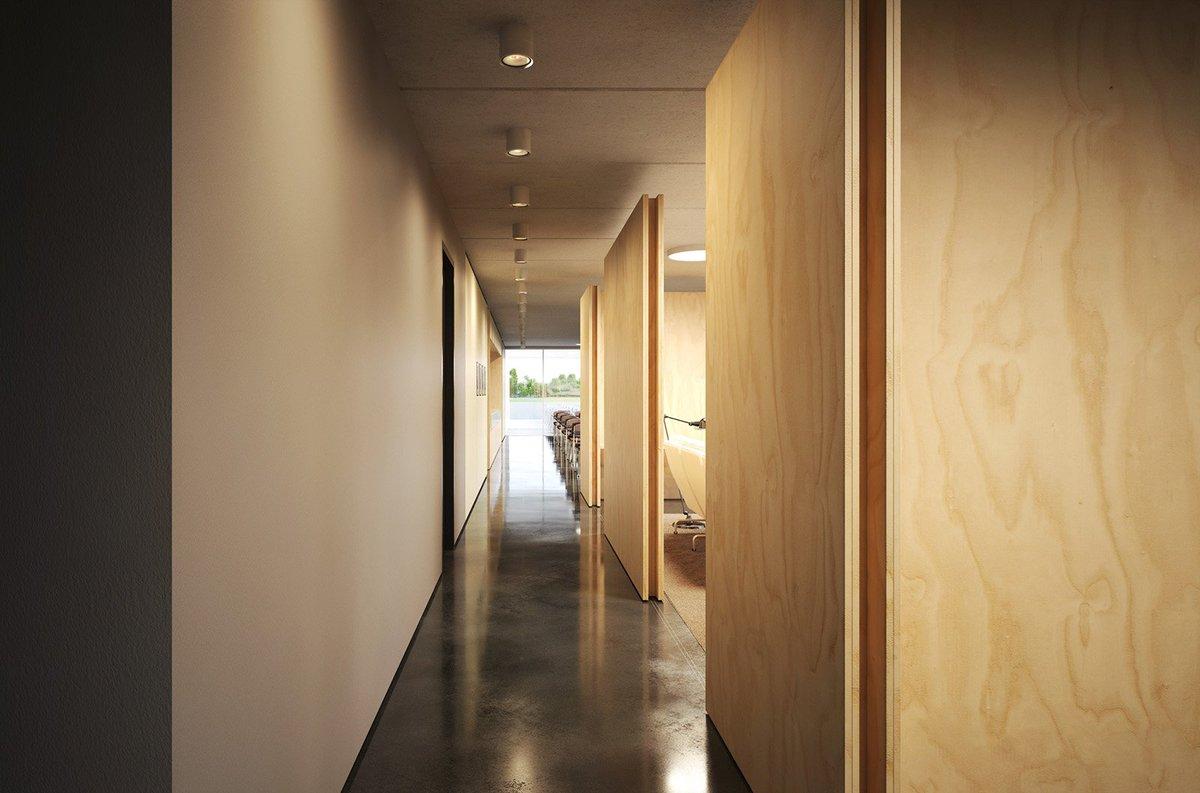 Harris Kalinka On Twitter Polished Concrete Floor And Plywood