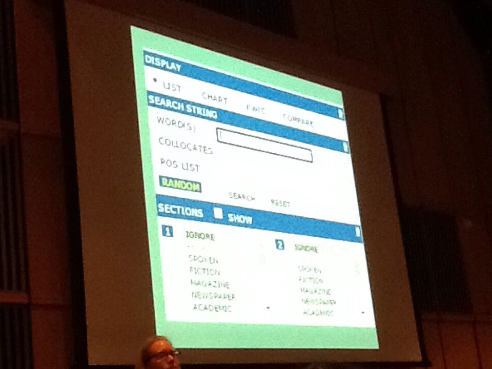 #iatefl Jennie Wright This is the search for COCA. It's vey intuitive. Put a key word in the box https://t.co/8YcJPuSaxh