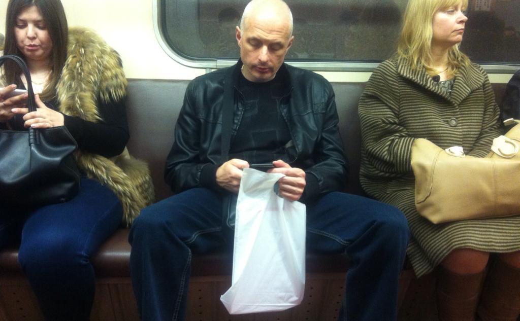 Знакомство с парнем в метро