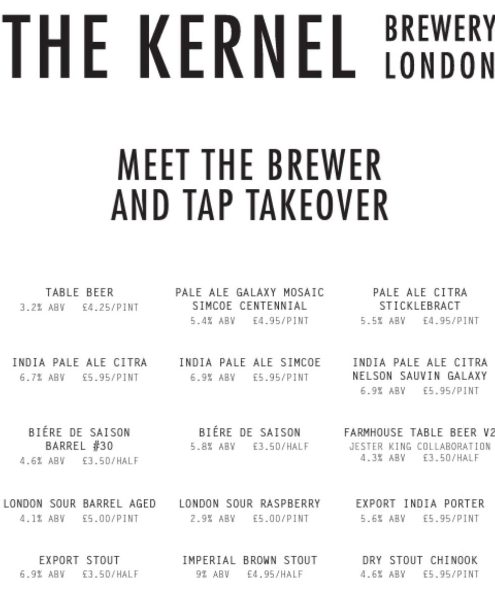 For those in the Brighton and Hove area tomorrow night we will be at @craftbeercoBN1 for a tap takeover. https://t.co/D7zu8gIypv
