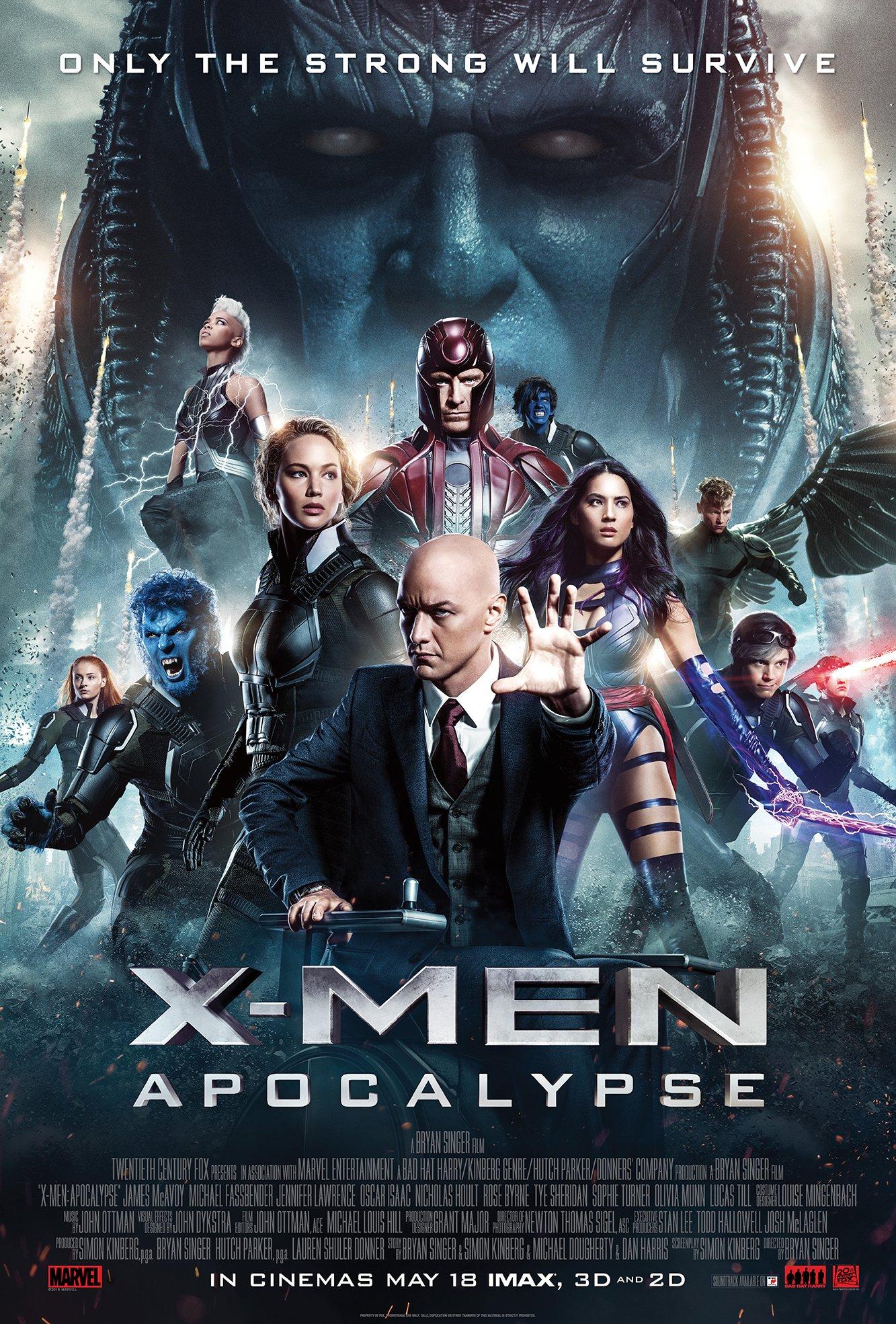 New X-Men: Apocalypse Poster Revealed 1
