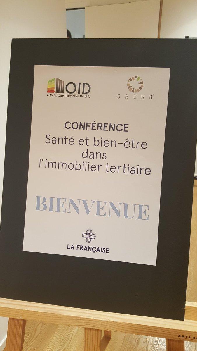 Thumbnail for Conférence OID & GRESB - Santé et bien- être dans l'immobilier tertiaire