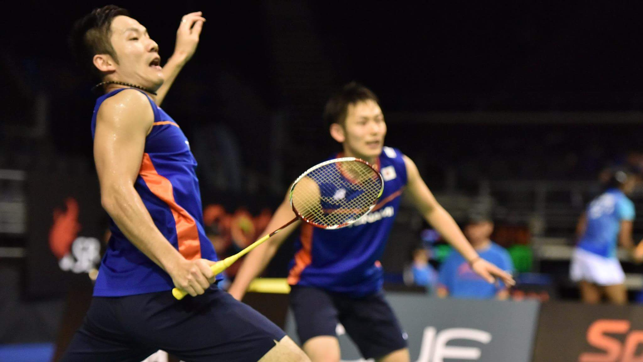 "IG Badminton Now on Twitter ""Takeshi Kamura Keigo Sonoda s"