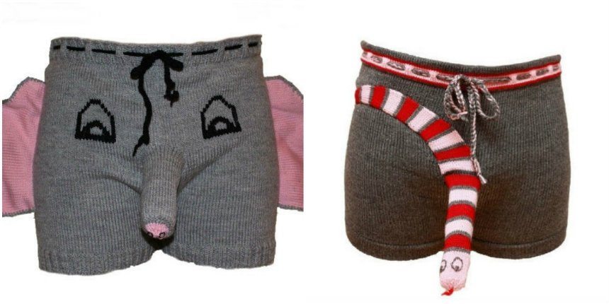 Elephant Boxers Knitting Pattern : Dangerous Minds on Twitter: