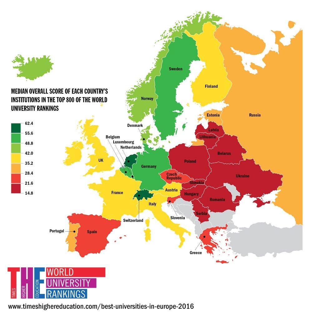 Study In Sweden On Twitter Take It From THEworldunirank - Sweden map universities