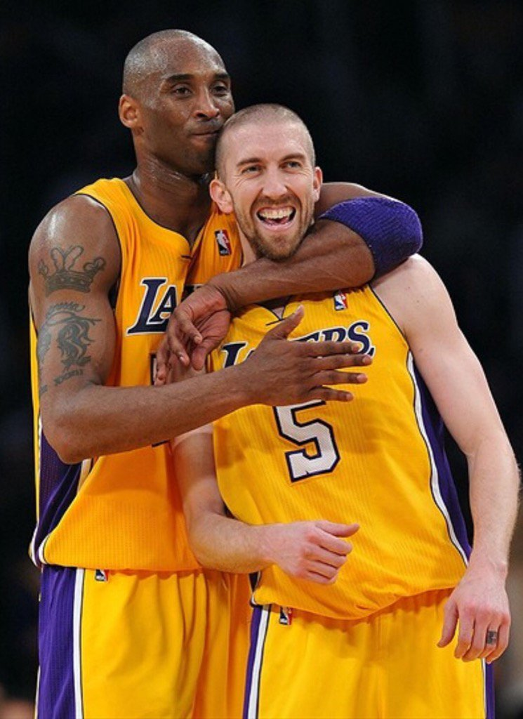 Going to miss you out there @kobebryant ! Feel blessed to call you a friend, teammate, and opponent! #MambaDay https://t.co/5eNB3yztu0
