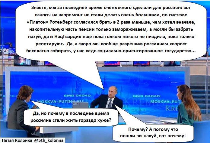 """Российская экономика находится в """"серой"""" полосе. Трудно нащупать дно, - Путин - Цензор.НЕТ 9769"""