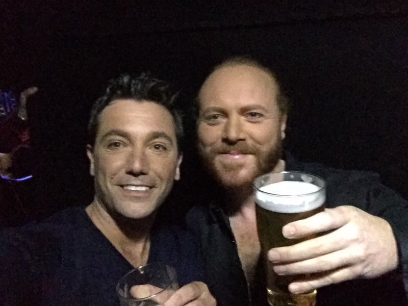RT @Ginofantastico: Great time filming @CelebJuice last night with my beardy buddy @lemontwittor - looking good, my friend! https://t.co/KC…