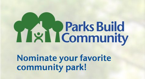 Nominate your favorite park 4 a $20k #ParksBuildCommunity grant during #EarthMonth https://t.co/3Ko3w8ie5w #pleaseRT https://t.co/yxLCsHinWy