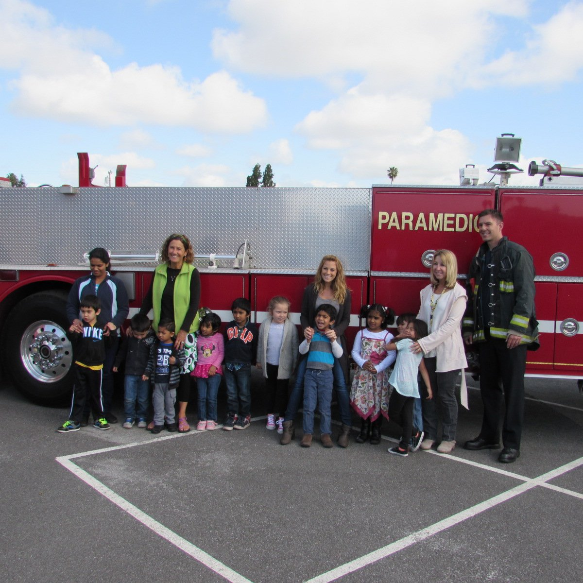fremont usd on twitter the fremontfire visit to glankler early