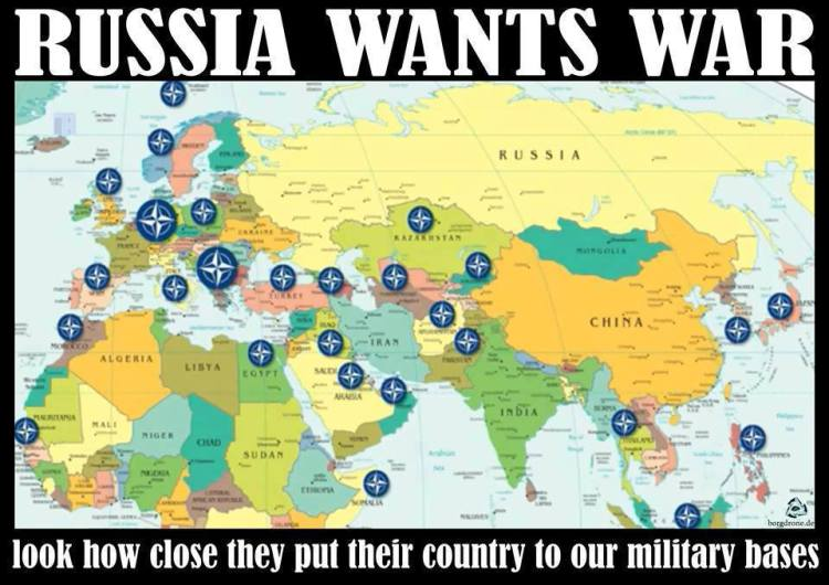 RussianAmericans Warn Nuclear War Will Leave Millions Of - Russia and us map