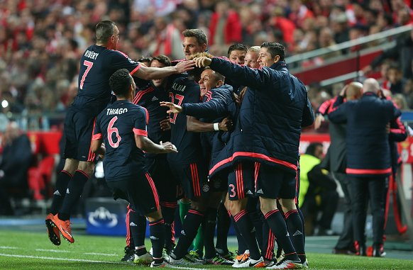 Video: Benfica vs Bayern Munich