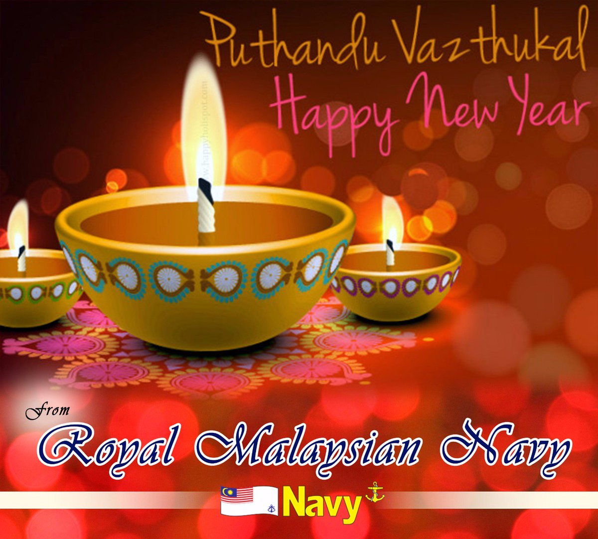 Royal Malaysian Navy On Twitter Happy Tamil New Year To All Tldm