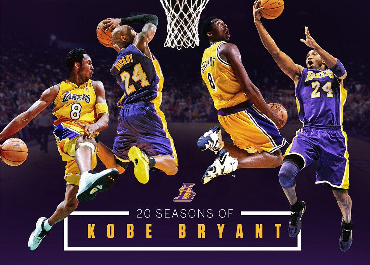 Kobe Bryant Kobe Bryant 1 Of 5 Players To Play 20 Seasons