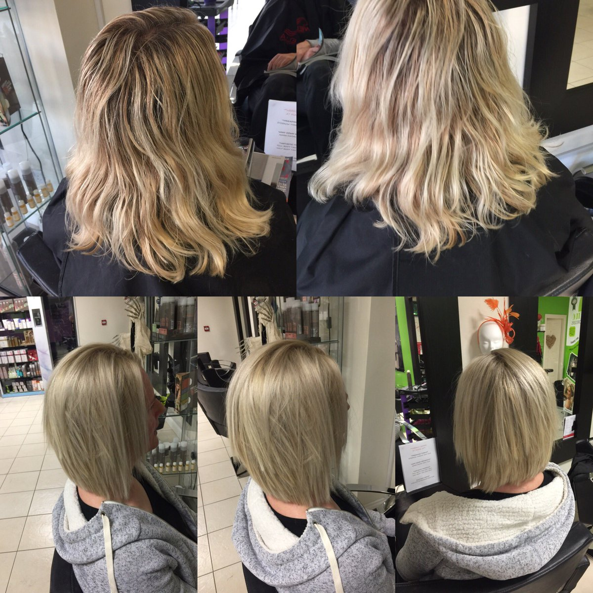 Retro Hairdressers On Twitter Before After Restyle Call