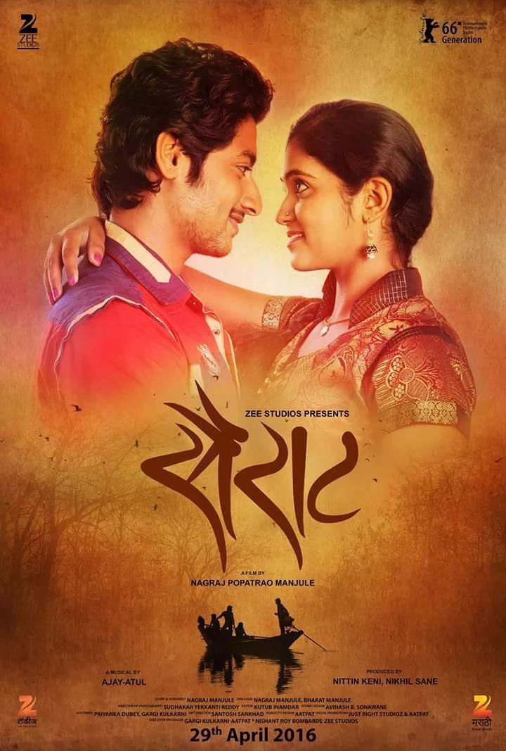 Sairat remake rights for Telugu, Kannada, Tamil & Malayalam bought