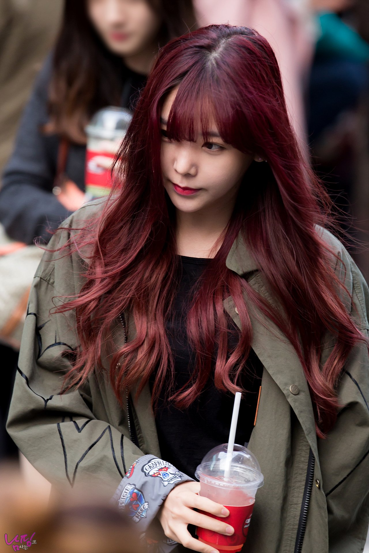 Kpop In Red Hair On Twitter Quot 。orange Caramel S Raina