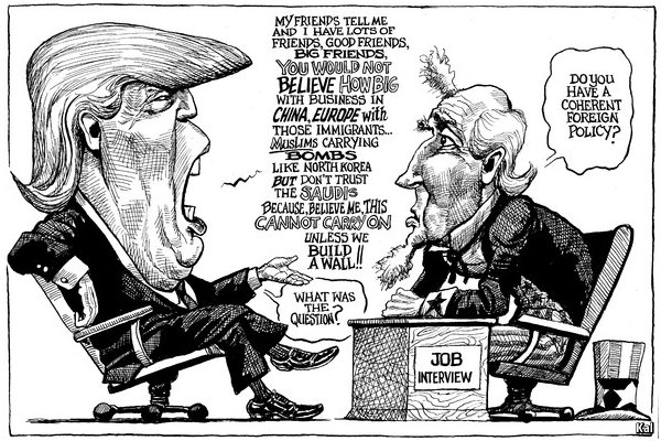 Image result for WTF Moments Trump Cartoon