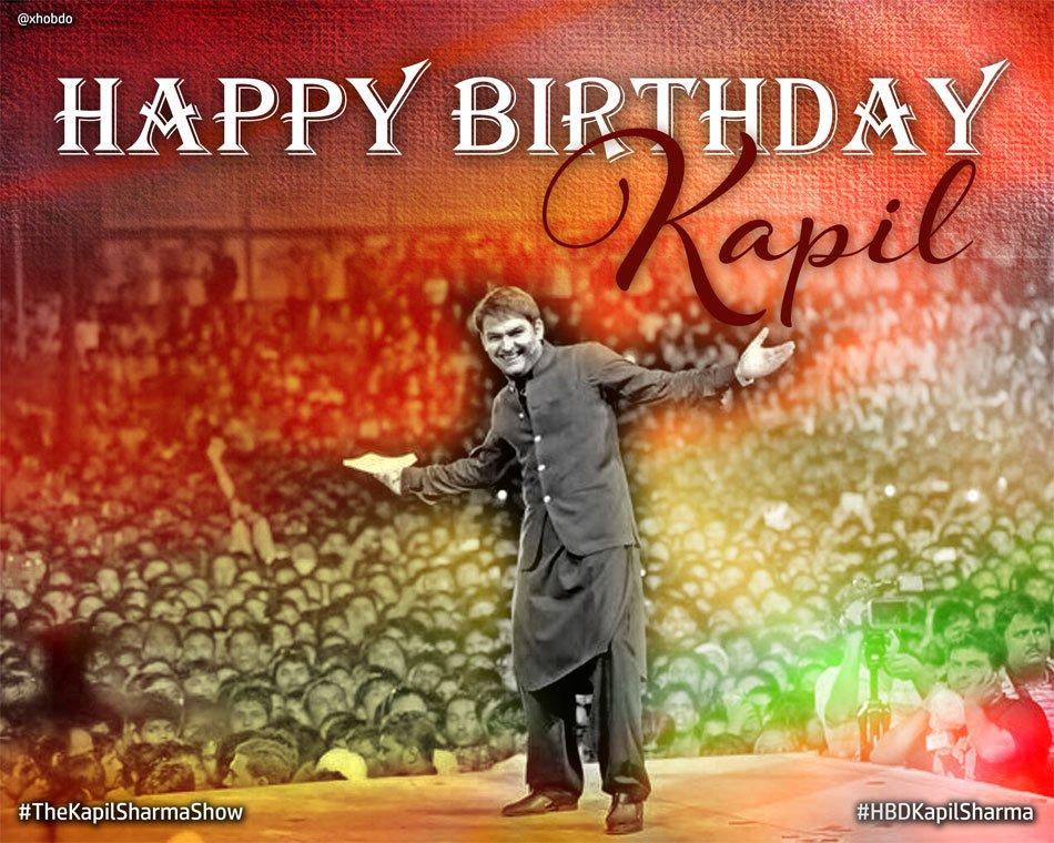 Happy Birthday @KapilSharmaK9 https://t.co/qeAX0QkqZN  #KapilDay @SonyTV #TheKapilSharmaShow will ROCKS \m/ @preeti_simoes @KapilFans
